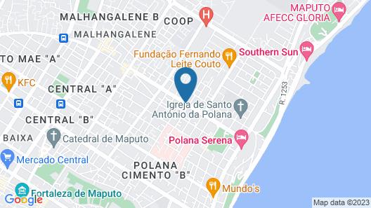 Hotel Kapital Map