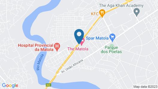 The Matola Hotel Map