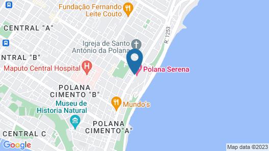 Polana Serena Hotel Map