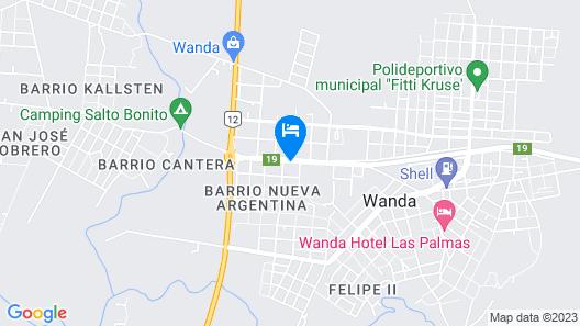 Hotel Amatista Map