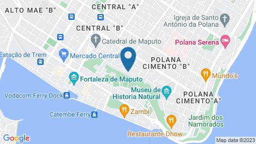 Montebelo Girassol Maputo Hotel Map