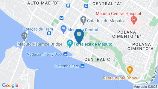 Hotel Tivoli Maputo Map