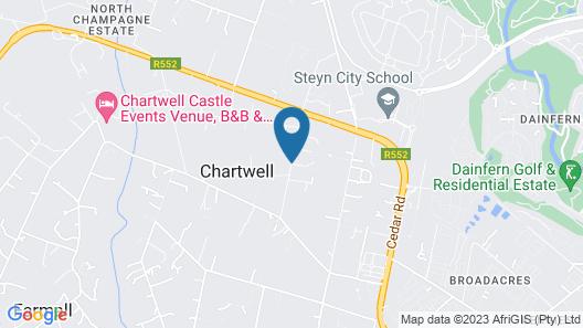 Hoyohoyo Chartwell Lodge Map