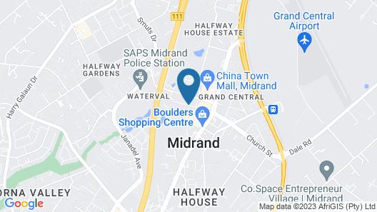 Ecotel Midrand Map