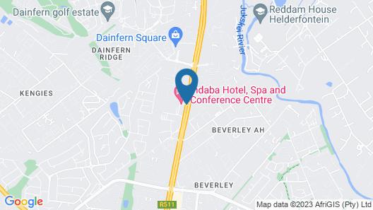 Indaba Hotel Map