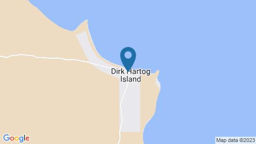 Dirk Hartog Island Eco Lodge Map