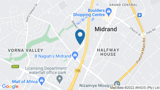 Villa Via - Midrand Map