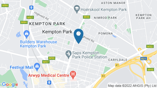 Metro Guest House Map