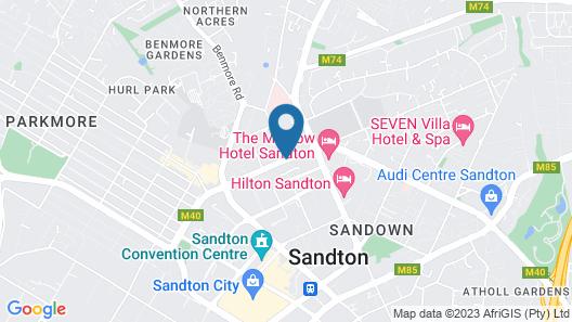 Sandton Executive Suites Hydro Park Map