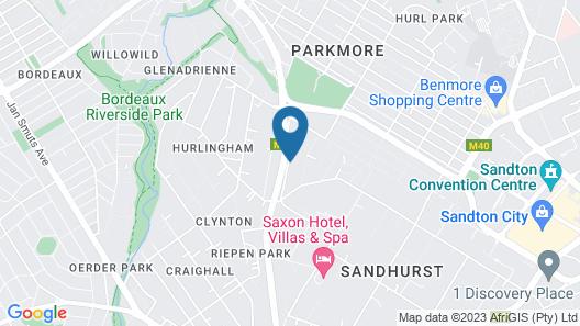The Residency Sandhurst Map