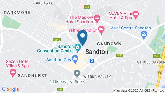 Hotel Sky Sandton Map