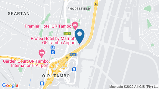 Protea Hotel by Marriott O.R. Tambo Airport Map