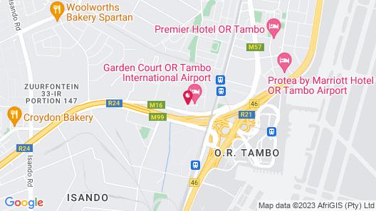 Garden Court O.R. Tambo International Airport Map