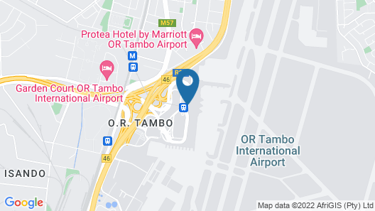 Protea Hotel by Marriott Transit O.R. Tambo Airport Map