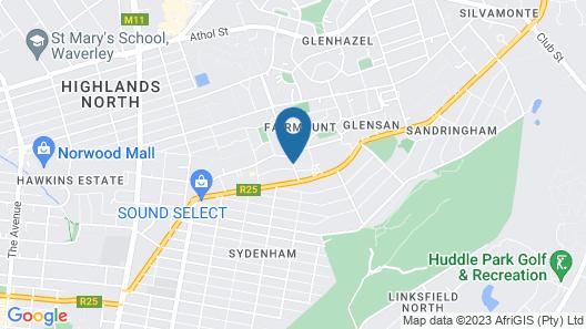 Genesis All-Suite Hotel Map