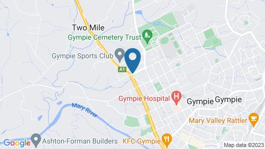 Mary River Motor Inn Map