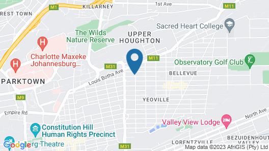 De Lambert Guesthouse Map