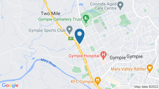 Nation Wide Motel Map