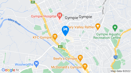 Royal Hotel Gympie Map