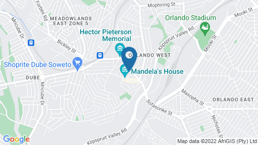 Zizwe Guesthouse Map