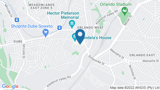 Ekhaya Guest House Map