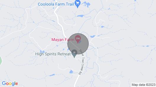 Bespoke, luxury, private - Noosa Hinterland Map