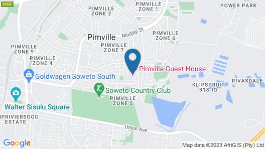 Pimville Guesthouse Map
