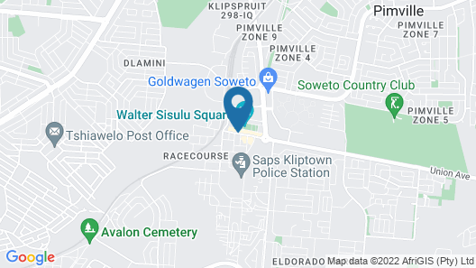 The Soweto Hotel & Conference Centre Map