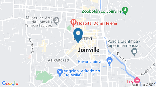 Hotel Trocadero Map
