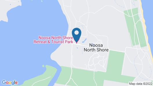 Noosa North Shore Retreat Map