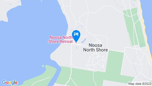 Noosa North Shore Retreat Map