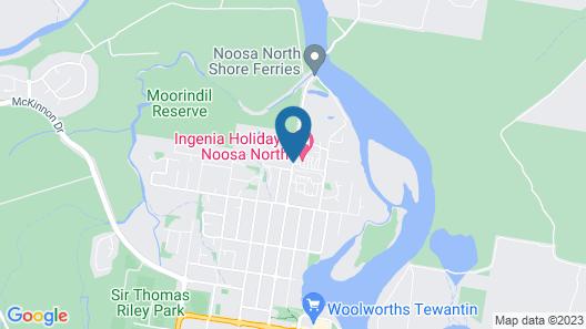 Ingenia Holidays Noosa North Map