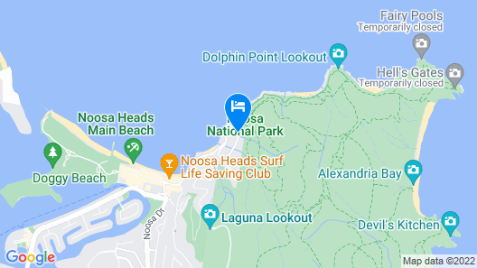 Palm Court Noosa Map