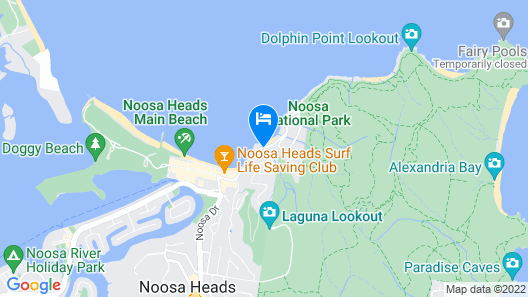 The Cove Noosa Map