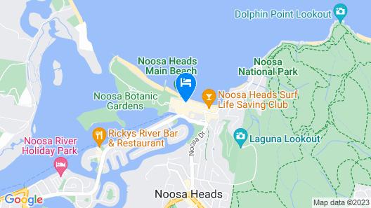 Tingirana Noosa Map