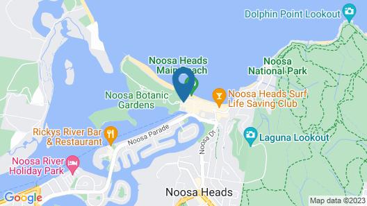 Sandcastles Noosa Map