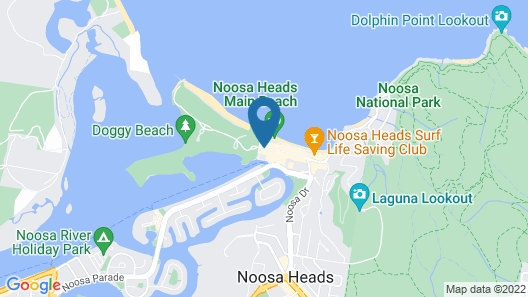 Maison Noosa Beachfront Resort Map