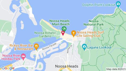 Seahaven Noosa Beachfront Resort Map