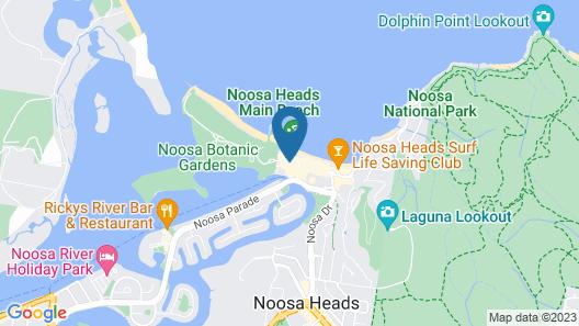 Seahaven Resort Map
