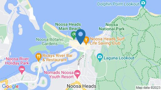 The Sebel Noosa Map