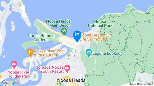 Saks on Hastings Map