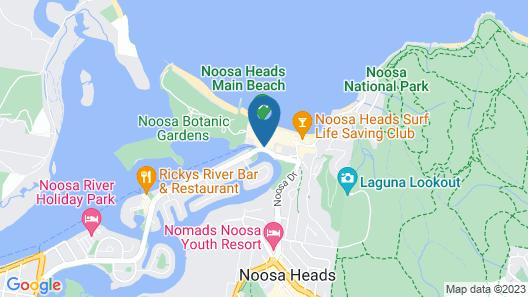 Sofitel Noosa Pacific Resort Map