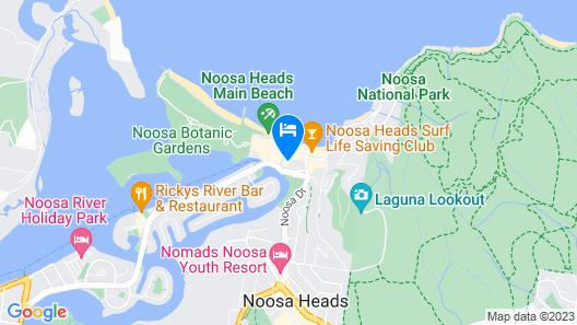 Laguna on Hastings Map
