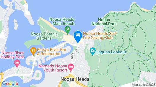 Ocean Breeze Resort Map