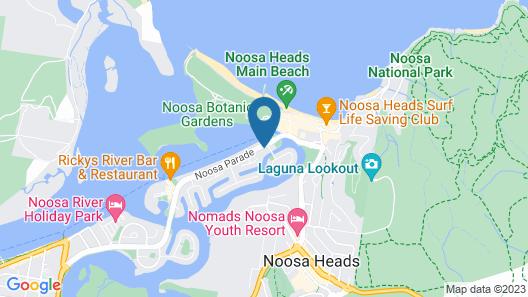 Caribbean Noosa Map