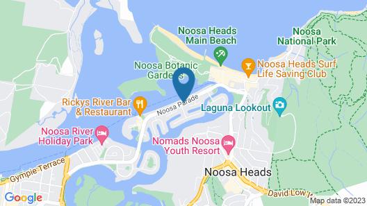 Noosa Boutique Apartments Map
