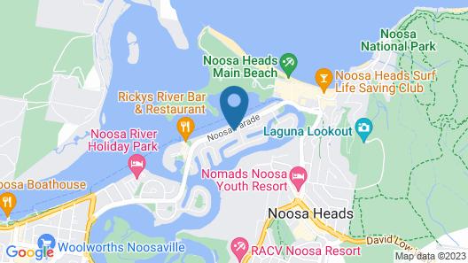 Unit 01 The Noosa Apartments Map