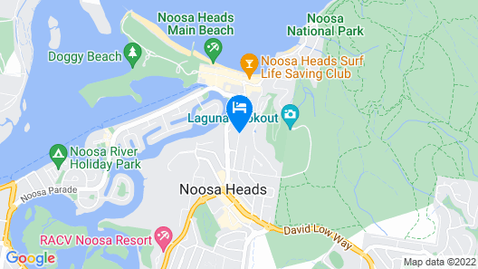 The Lookout Resort Map