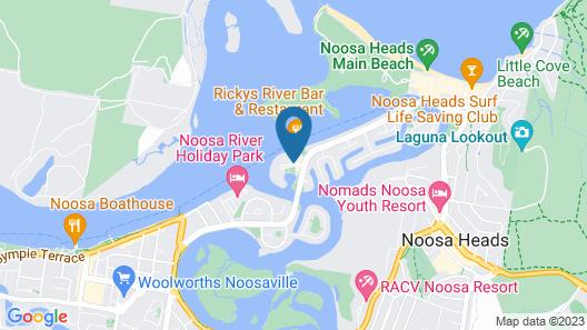 Noosa Quays Map