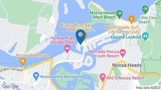 Noosa Harbour Resort Map